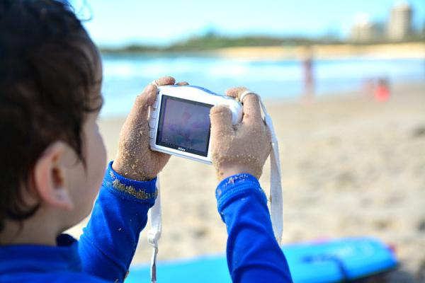 Kids camera review waterproof and shockproof how we montessori - Camera montessori ...