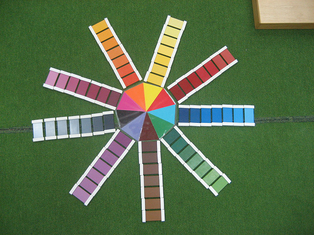 Montessori Colour Tablet Box #3