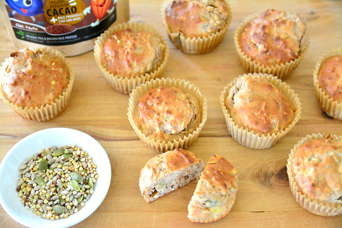 Superfood muffins at How we Montessori