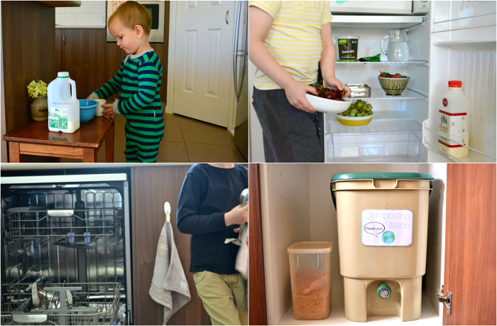 Montessori Kitchen Ideas at How we Montessori
