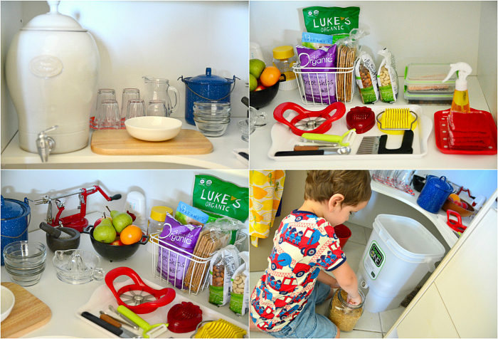 How we Montessori - Kitchen areas at Four