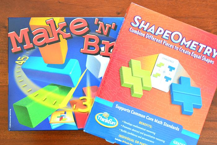 Make 'n' Break and Shape-O-Metry at How we Montessori