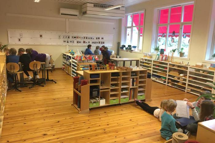 Hosanger Montessoriskule, Norway, classroom 2016