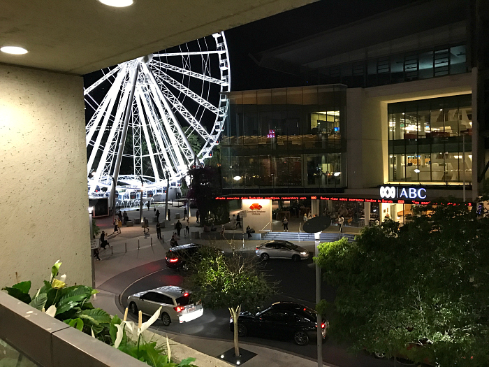 QPAC Wheel of Brisbane and the ABC
