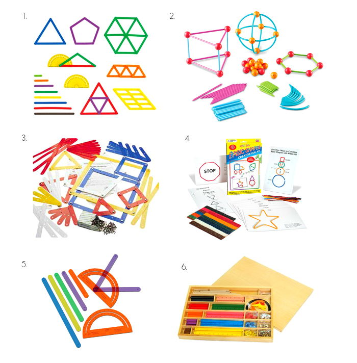 Tools to make geometric shapes at How we Montessori