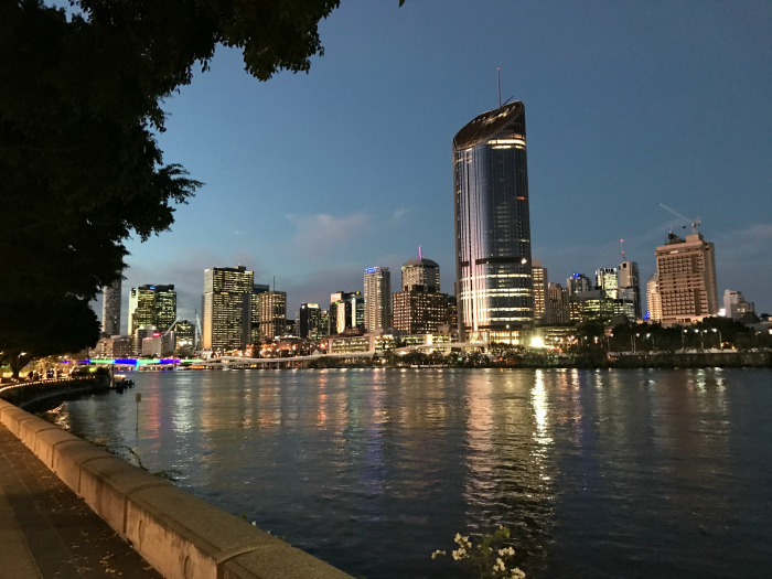 Southbank at Night - Brisbane, Places to visit
