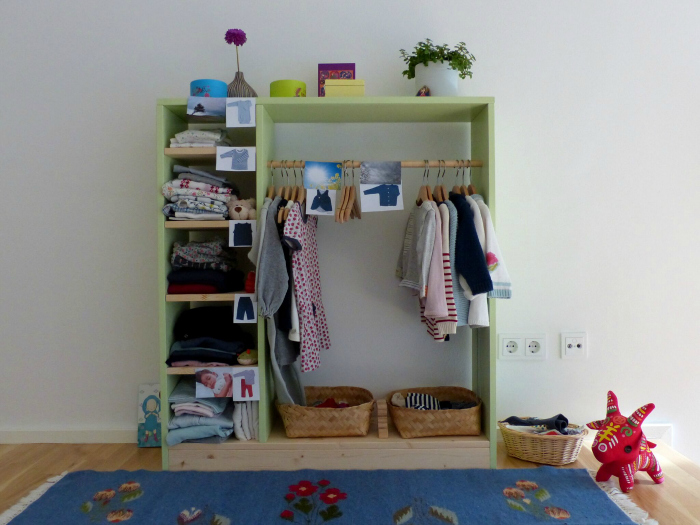 Montessori Home, Dressing Area