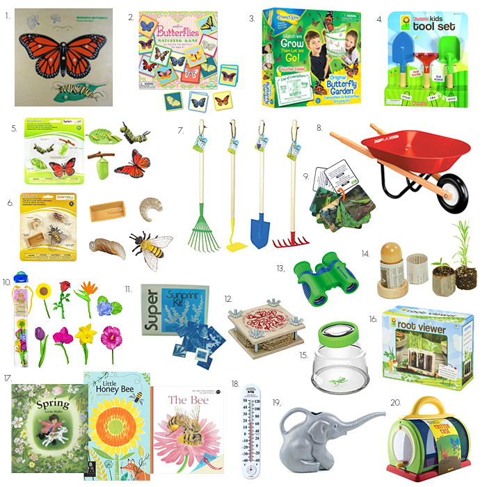 Fun Materials for Spring at How we Montessori 2016