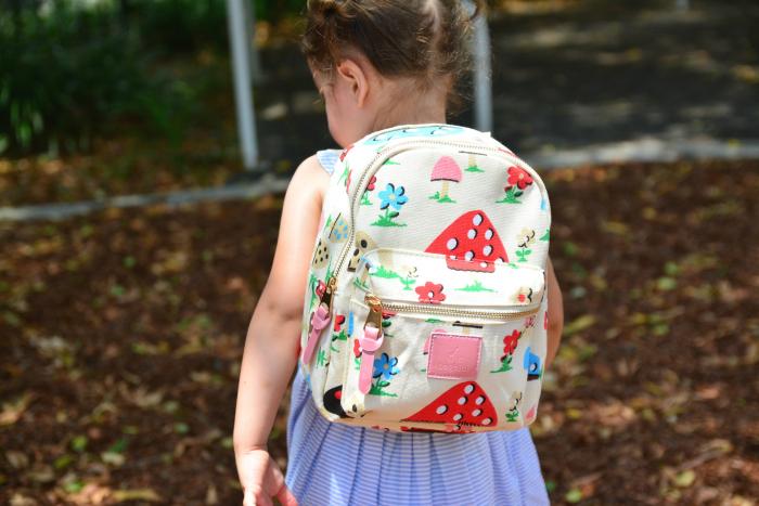 Back view of Bagbini - at How we Montessori