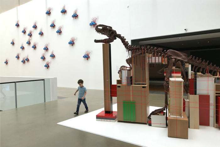 Wandering around the  Queensland Gallery of Modern Art