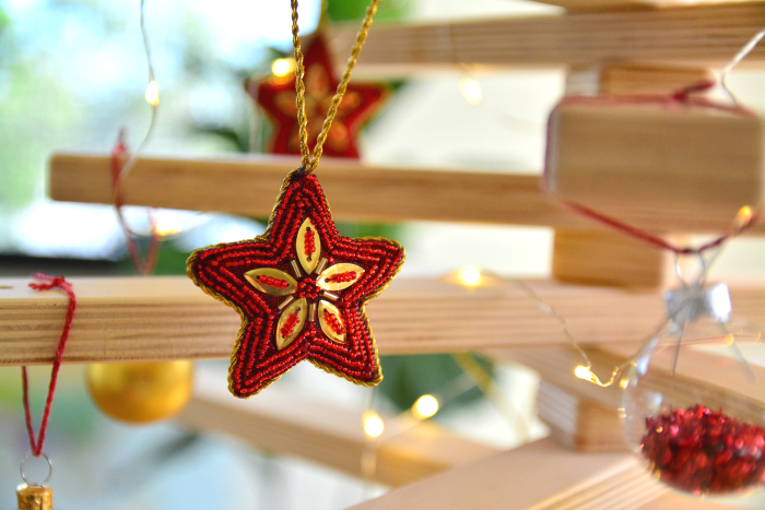 Christmas decoration at How we Montessori