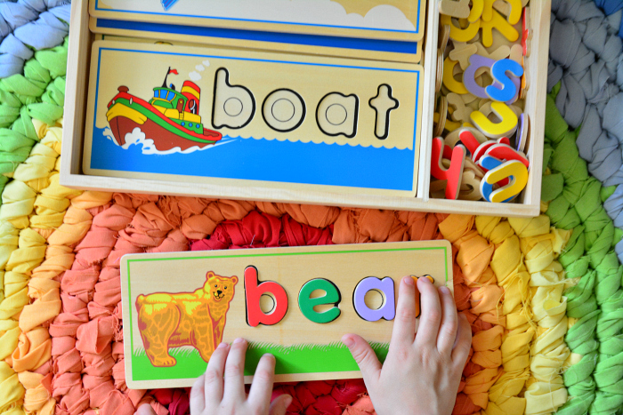 Melissa and Doug - Spell Puzzle from Child.com.au