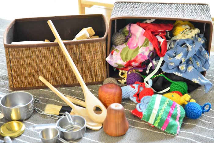 MELA activities  Meuristic baskets  metal  wood and cloth
