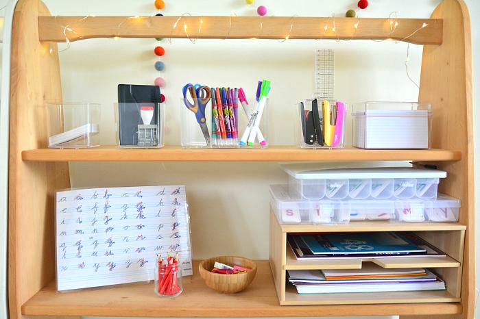 Writing Station at How we Montessori
