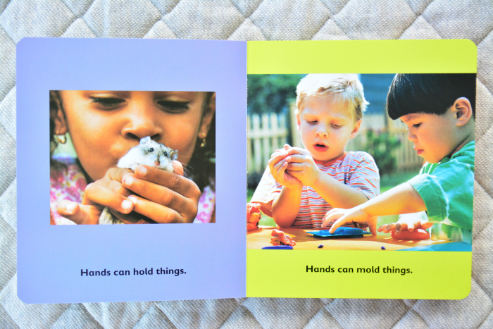 Books for babies  Hands Can at How we Montessori