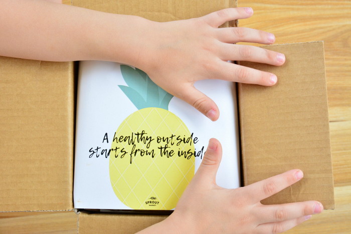 A healthy outside starts in the inside  Sprout Market at How we Montessori