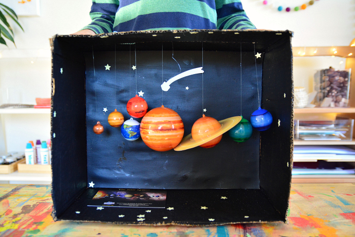 Montessori Solar System at How we Montessori