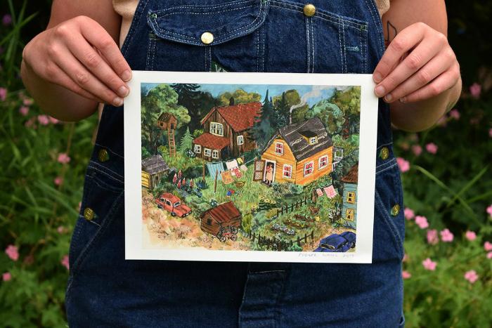 Phoebe Wahl  Neighbourhood Print