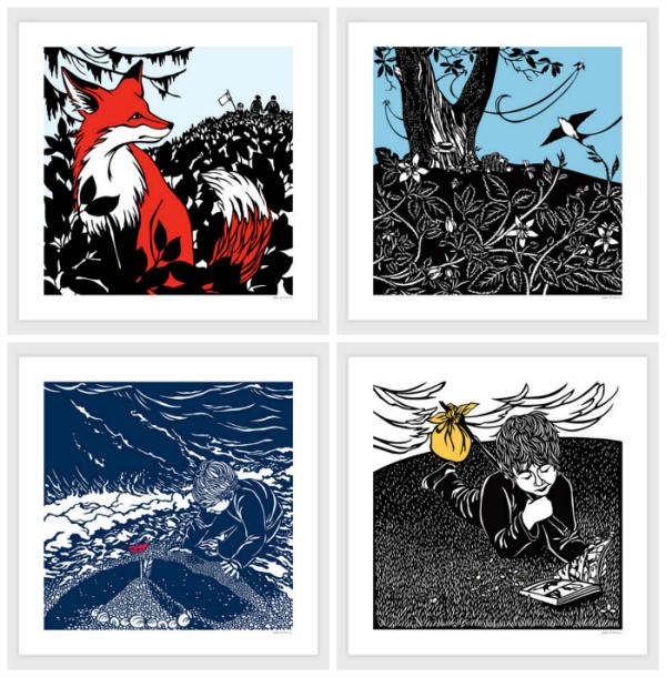 Nikki McClure Prints