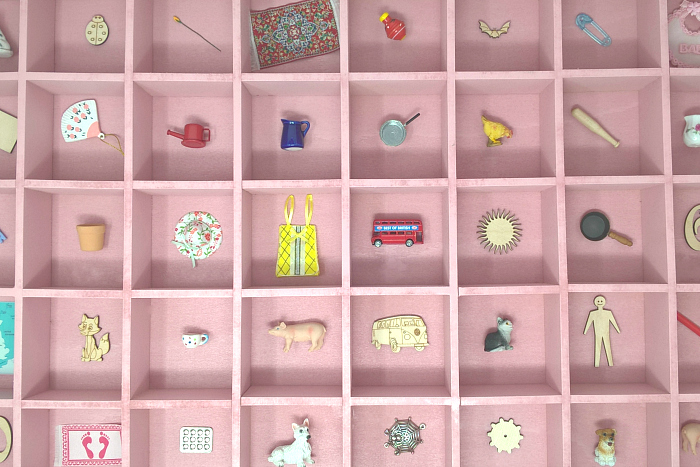 Pink Objects at Montessori Enterprises