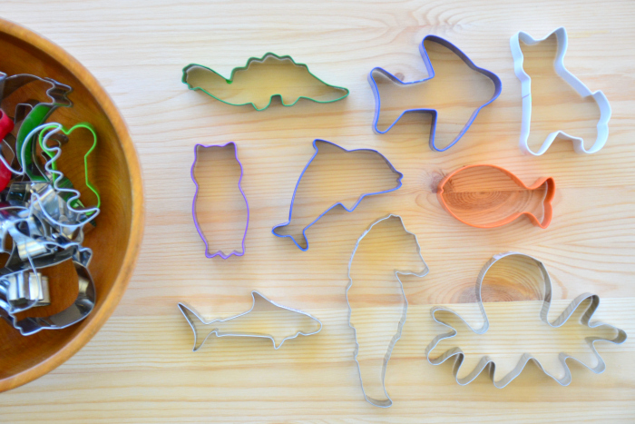 Otis cookie cutter collection at How we Montessori
