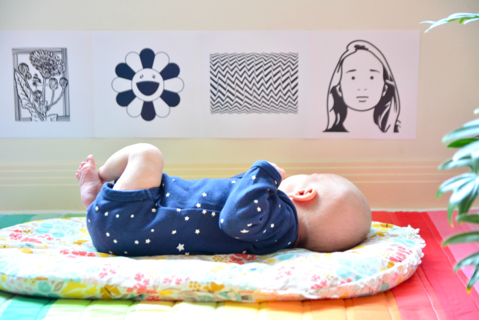 How we Montessori  High Contrast Images  Newborn