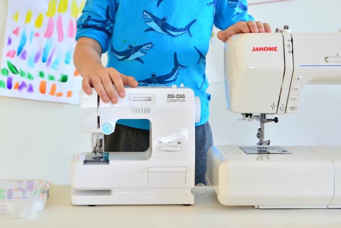 How we Montessori  sewing machine comparison  child size sewing machine