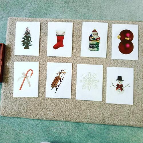 Montessori and Me Toddler Lanugage Cards