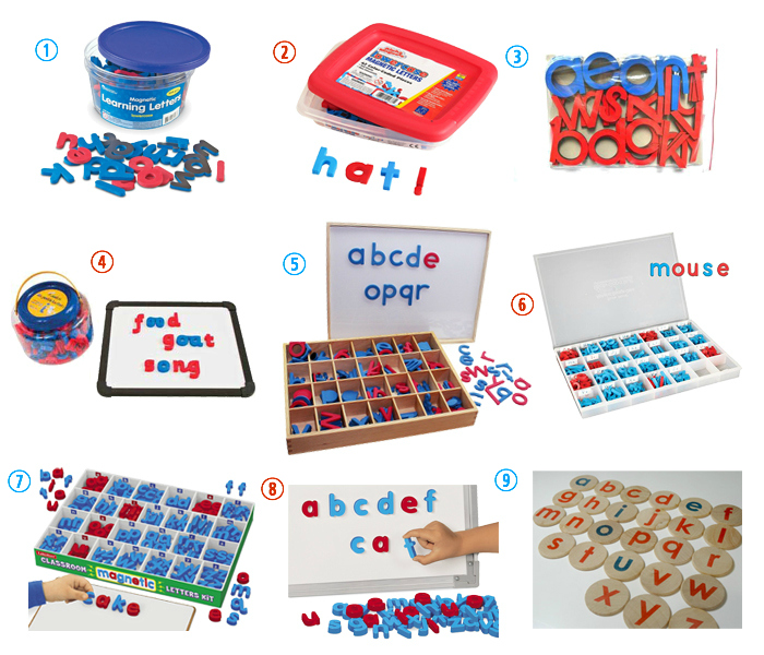 Magnetic Movable Alphabet  Magnetic Alphabet at How we Montessori