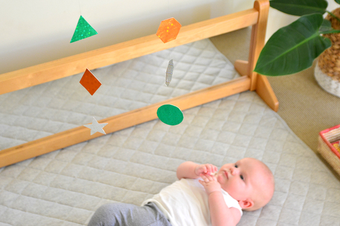 How We Montessori Infant Mobiles