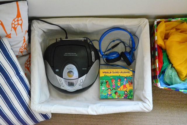 How we Montessori Music, Listening Audio centre