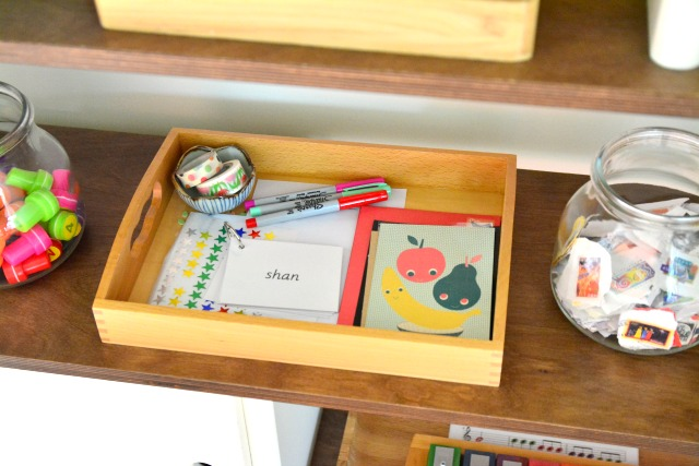 What's on our shelves stamps, letter writing tray and stamps July 10 2015