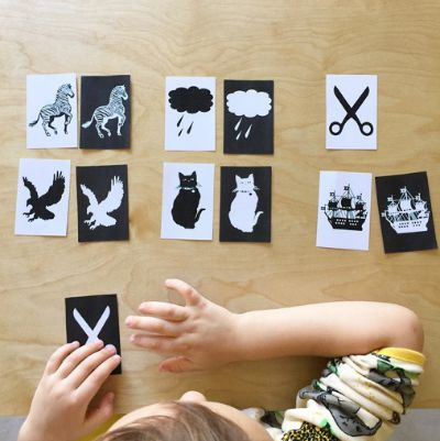 Visual Perception Positive:Negative Images at How we Montessori