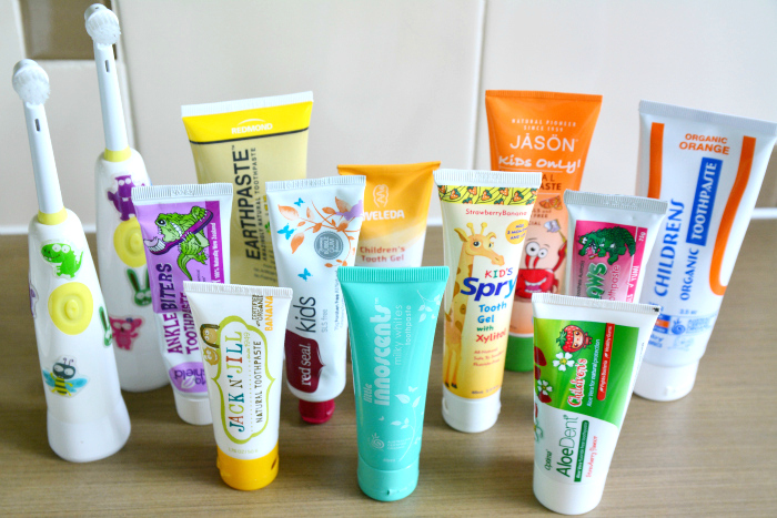 How we Montessori Natural and Organic Toothpaste for Children