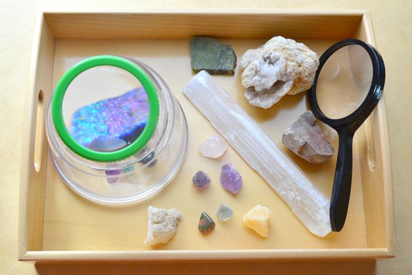 Five Minute Montessori Go Get A Magnifying Glass How We Montessori