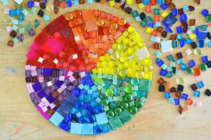 Color Wheel at How we Montessori, Montessori color work