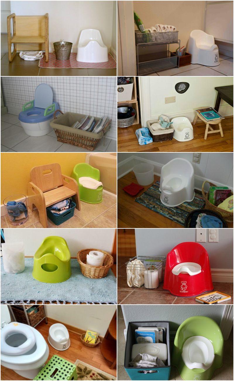 Montessori Potty Toilet Learning