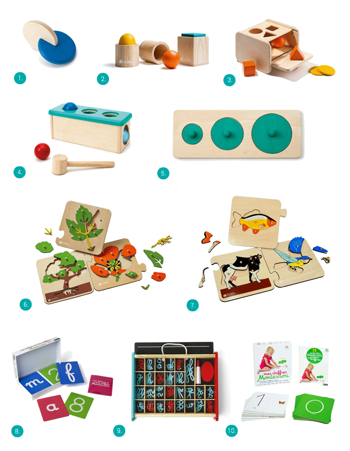 Montessori Materials from France