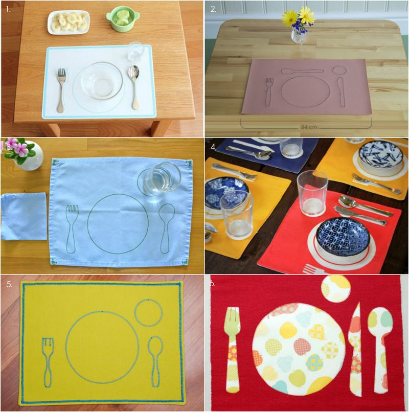 Fabulous Montessori Placemats, at How we Montessori