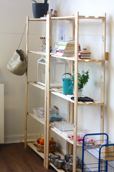 The Montessori Notebook - Shelves