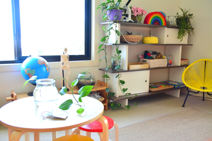 Montessori Work Area At How We Montessori