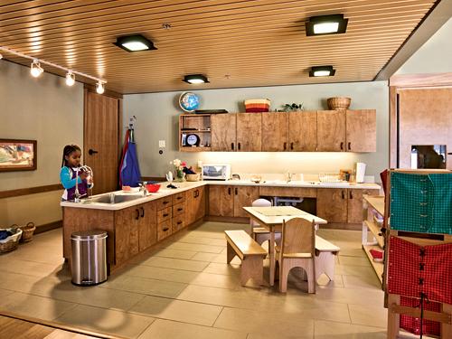 Montessori Training Center of Munnesota Children's Kitchen