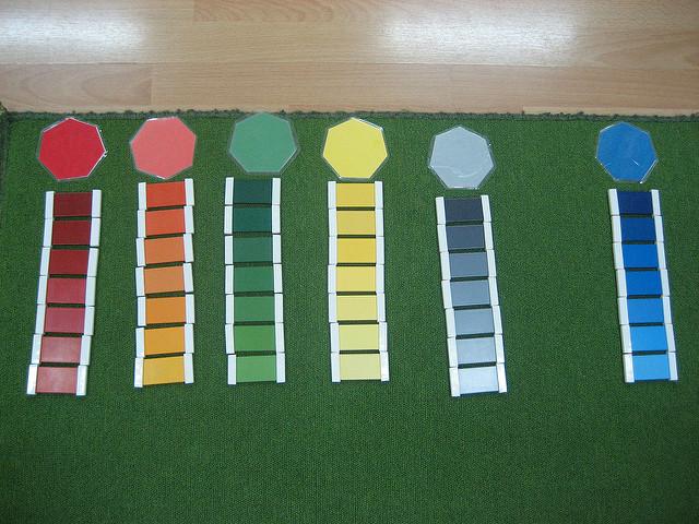 Montessori Colour Box 3 order