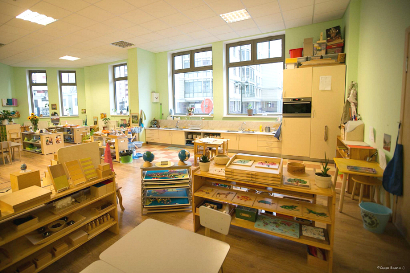 Montessori School of Moscow, Russia