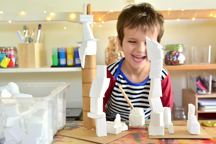 Otis making foam structures at HWM