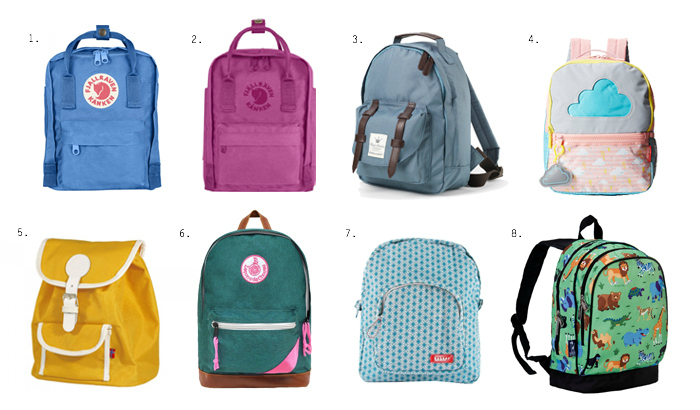 Back to School Backpacks - and a few Montessori tips