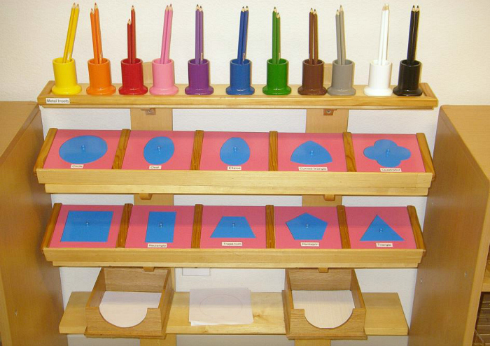 Mountain Montessori Metal Insets