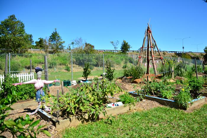 MIC at How we Montessori 9-12 garden