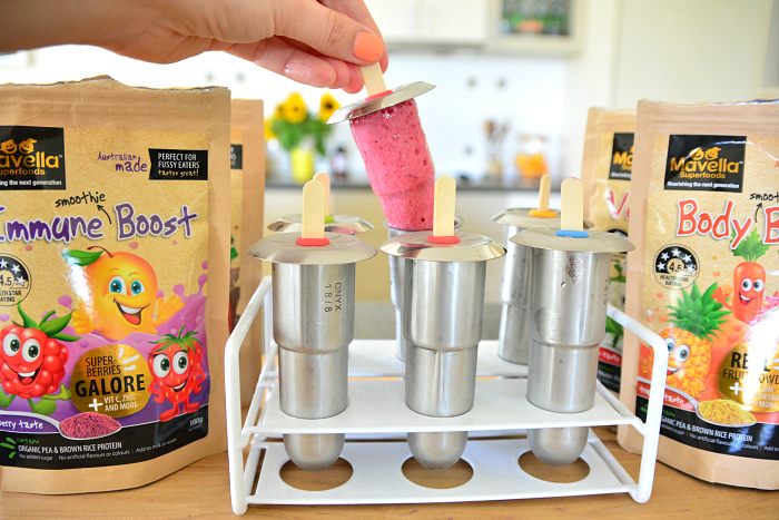 Superfood Frozen Yoghurts at How we Montessori