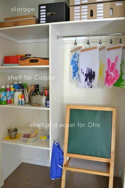 Art Area at How we Montessori #1
